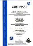 NAREX MTE - ISO 9001