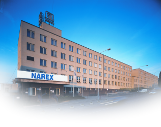 Production plan in Prague - NAREX