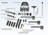 Vhu 125-D Accessories description